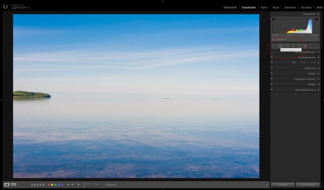 Tutorial-Lightroom5-Sensorfleck-entfernung-1