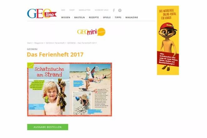 Geomini, Zeitschrift, Bretagne, Fotorepoarte, Ferien, Urlaub, Frankreich