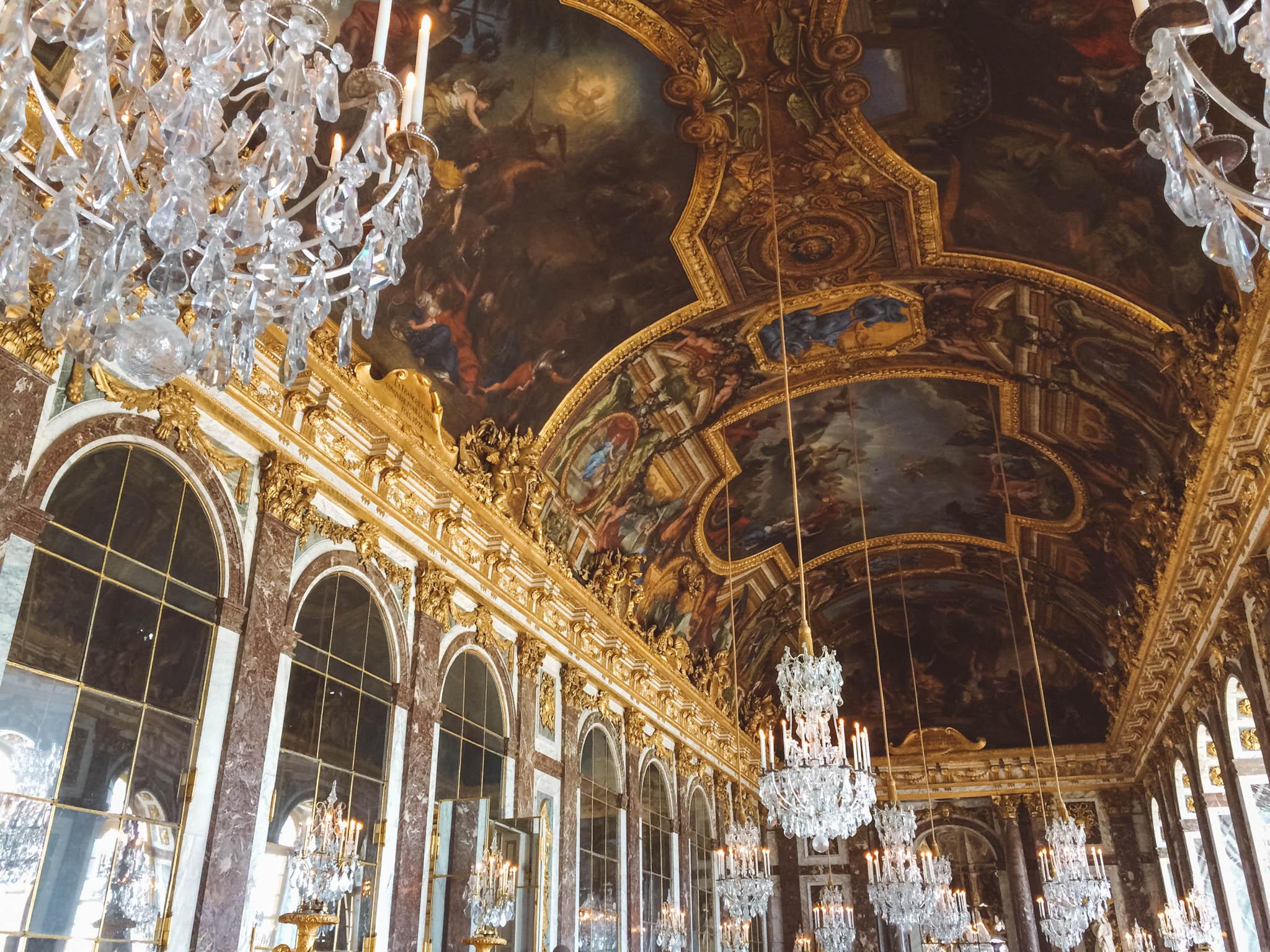 Visiting the Chateau de Versailles