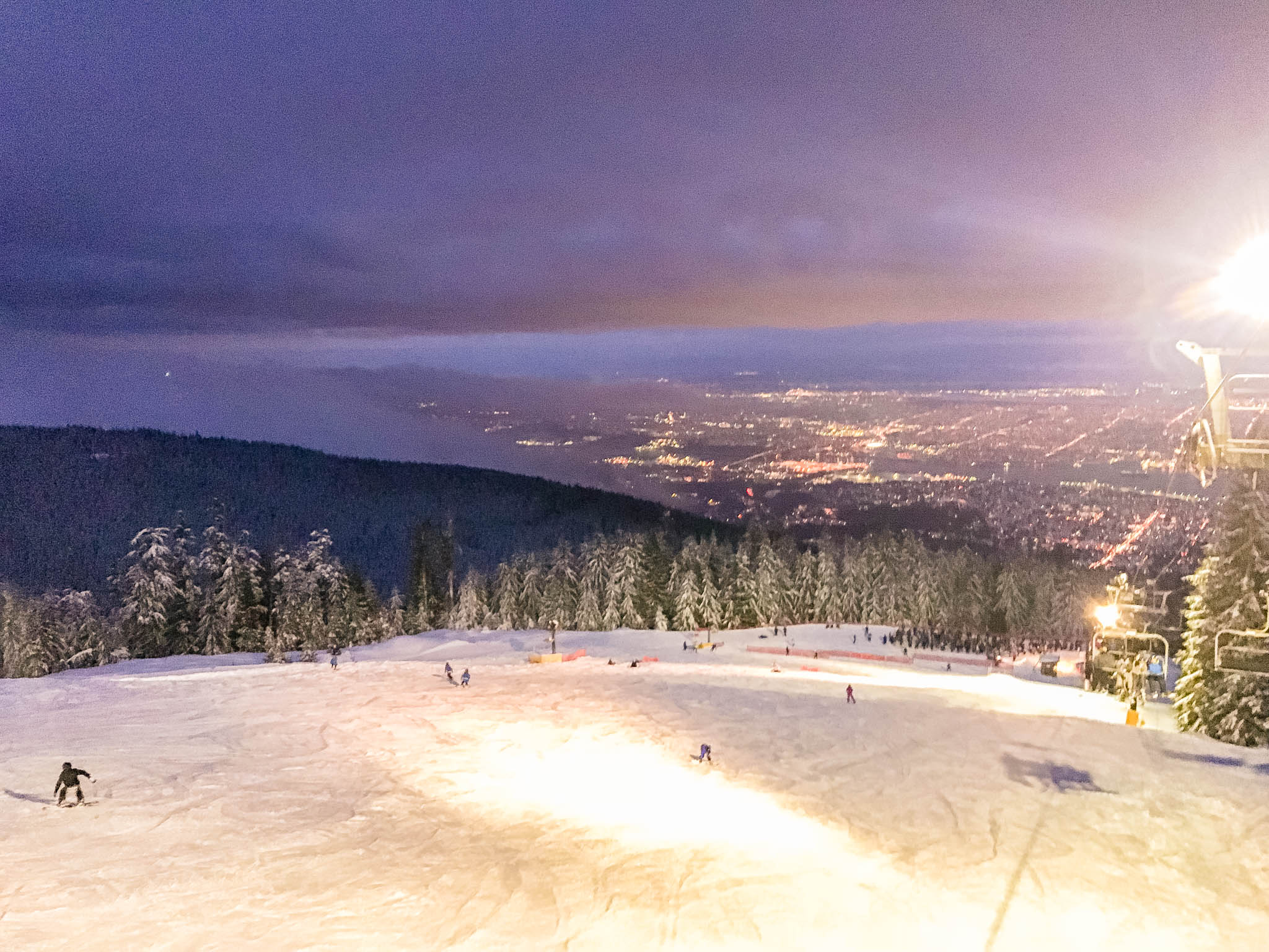 jana meerman grouse mountain night skiing-1