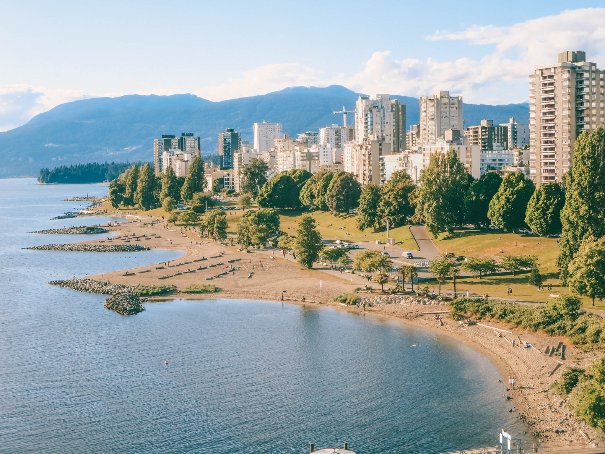 Where to Watch the Sunset in Vancouver: Sunset Beach