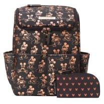 metallic mickey diaper bag