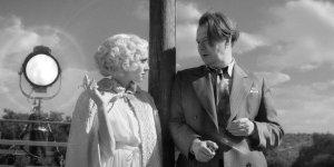 Actress Amanda Seyfried plays the actress Marion Davies and actor Gary Oldman portrays screenwriter Herman J. Mankiewicz in MANK. (Courtesy Netflix)