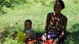 Madagascar mother & child