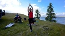 Mongolia-yoga-tree-pose-lake-khoton-altai-tavan-bogd-national-park-thegeneralist
