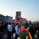 #occupyturkey – Letzte Nacht: Taksimplatz & Tränengas
