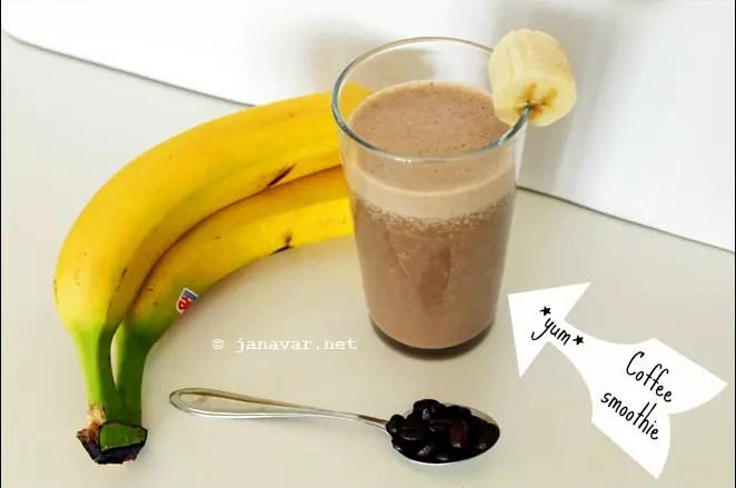 Recipe: Coffee banana smoothie