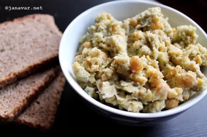 Food: Cucumber hummus - Recipe