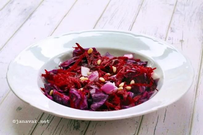 Recipe: Healthy red winter salad