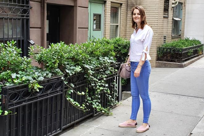 Outfit: Light Colors in Late Summer   janavar