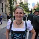 Walking in the German-American Steuben Parade 2019