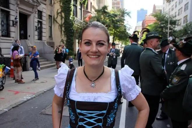 Walking in the German-American Steuben Parade 2019 | janavar