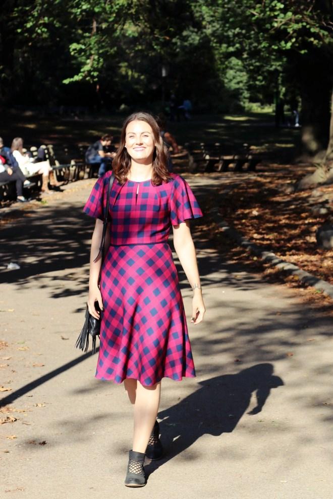 Outfit: Plaid Dress for Fall   janavar