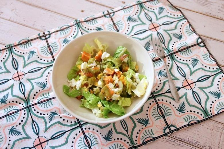Recipe: Romain Lettuce and Sweet Potato Salad - janavar