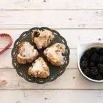 Recipe: Vegan Blackberry Basil Lemon Cookies
