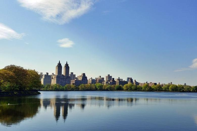 The Reservoir in Central Park