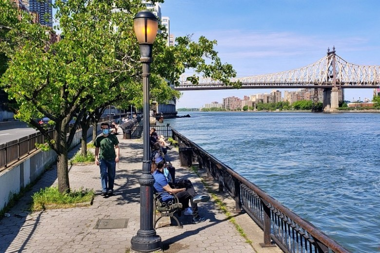 East River at Sutton Place