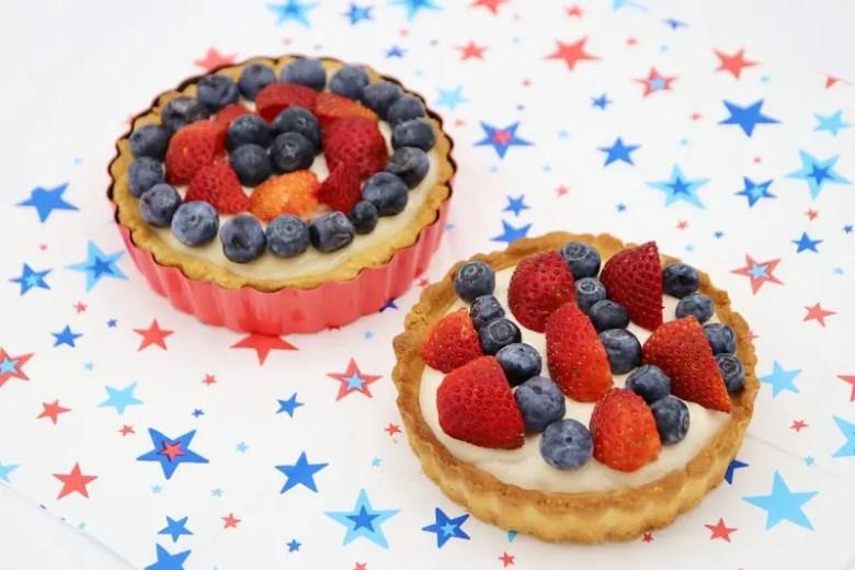 Recipe: 4th July Vegan Cheesecake Pie   janavar