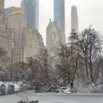 New York City's First Snowstorm in Winter 2020-21
