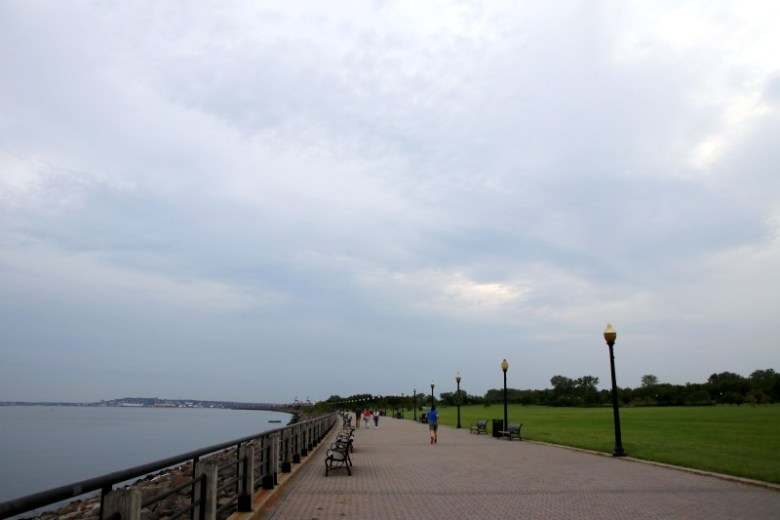 Waterfront path in Liberty State Park - Quick Trip to Jersey City | janavar