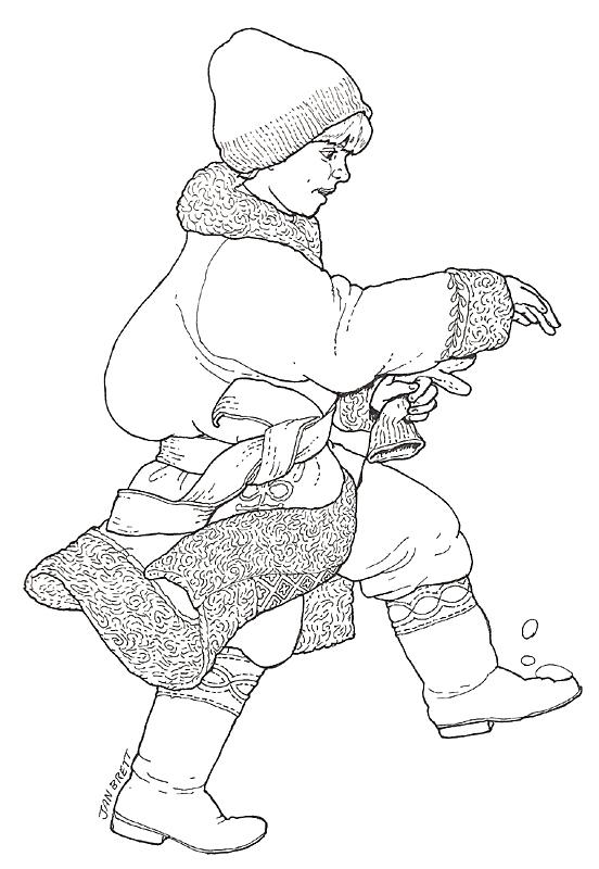 niki coloring page
