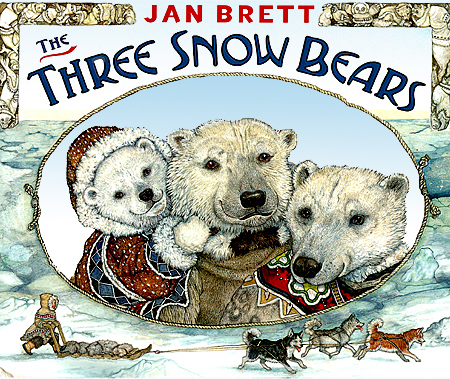 Image result for Jan Brett and the three snow bears