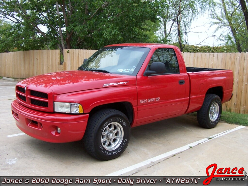 Jance Customs 2000 Dodge Ram Sport ATN2DTL The