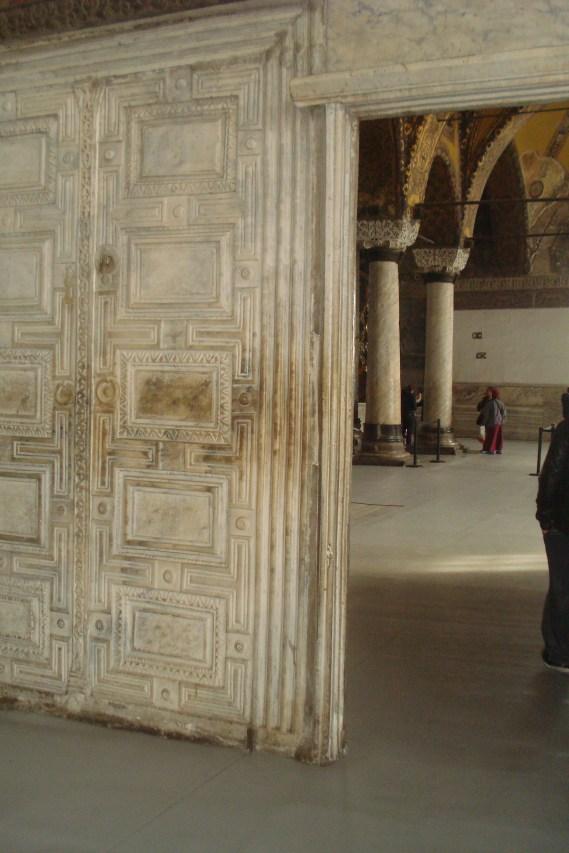 Aja Sofija, vrata koja su delila sveštenstvo i vlast