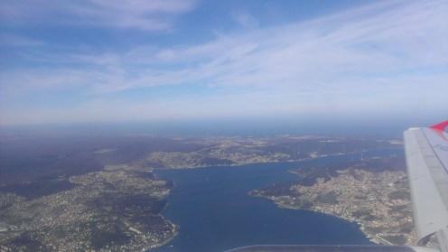 Pogled iz aviona, Bosphorus