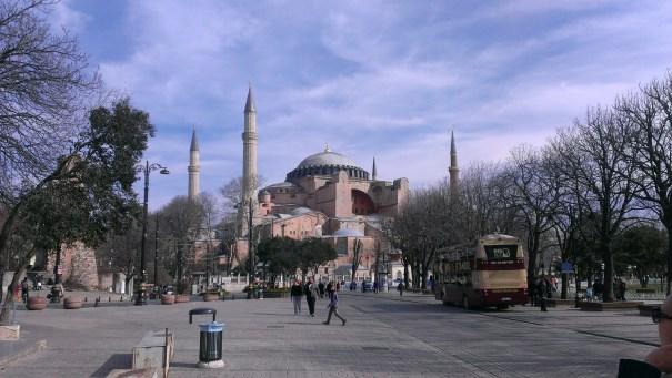 Aja Sofija, Sultanahmet park - Hagia Sophia, Sultanahmet Park