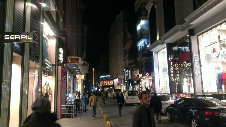 Laleli ulica - Laleli street