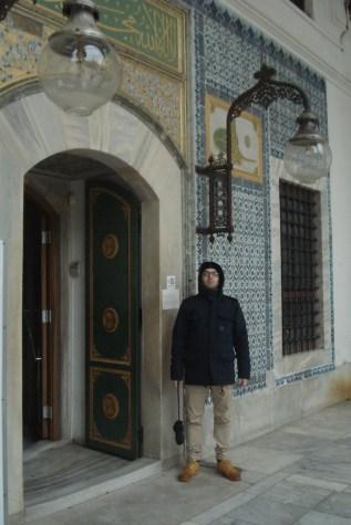 Topkapi palata, ulazna vrata u harem - Topkapi Palace, the entrance gate to the harem
