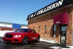 luxury vehicles j and j collision dearborn heights