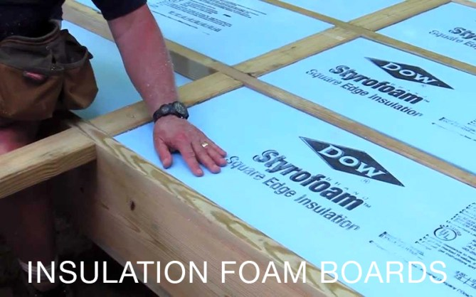 Insulation Foam Boards