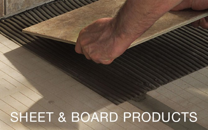 Sheet & Board Products