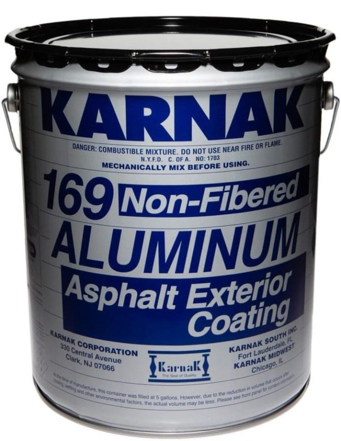 Karnak Fibered and Non-Fibered Aluminum Coating
