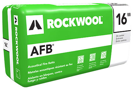 Rockwool AFB and AFB evo Mineral Wool Insulation