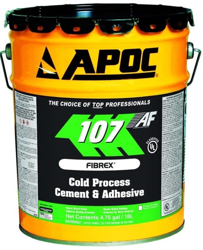 APOC 107 Fibrex Cold Process Cement & Adhesive