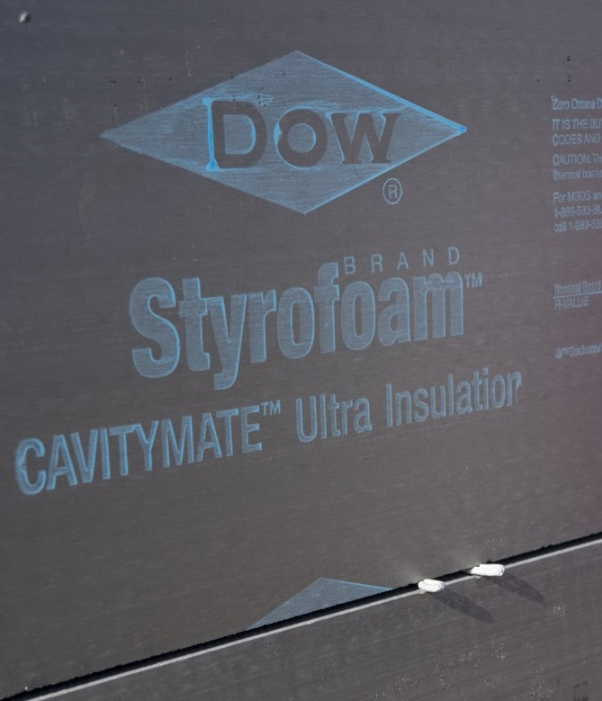 Dow STYROFOAM Brand Cavitymate, Cavitymate Plus & Cavitymate Ultra