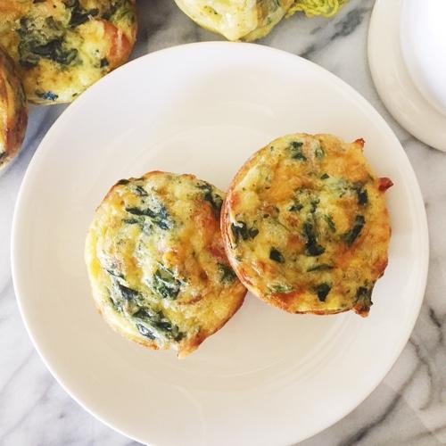 Foyer Rug Quiche : Easy crustless mini quiche recipe with spinach and bacon
