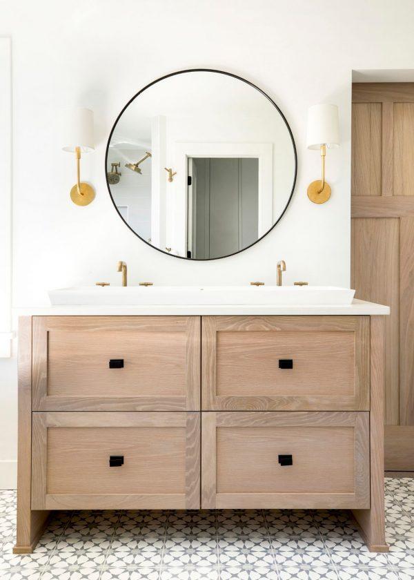 Shady Beach House Bathroom - Bria Hammel