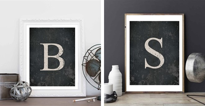 Monogram Home Decor
