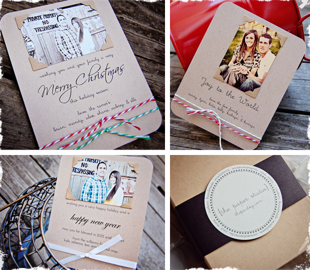 Personalized Christmas Greeting Cards And Envelopes Jane