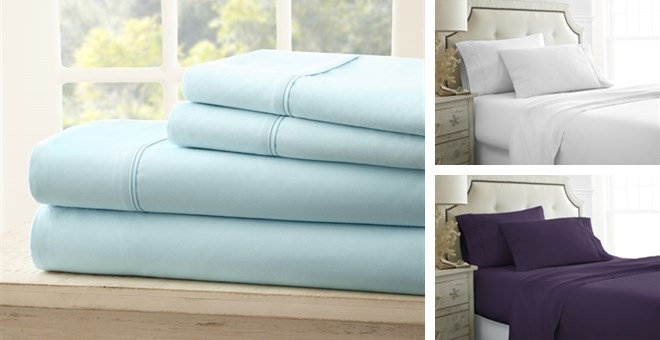 Super Soft 1800 Count Sheet Set | 4 Piece