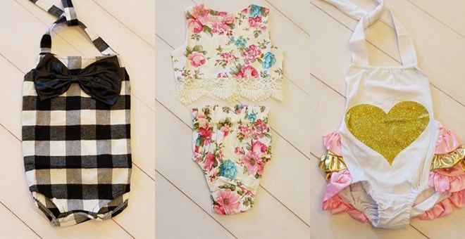 Cutest Baby Rompers!