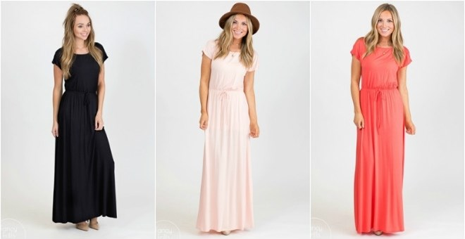 Lux Spring Maxi Dress!
