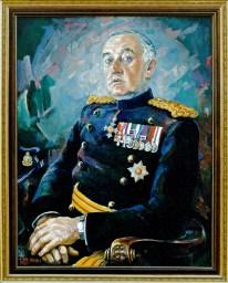 23 general Geoffrey Howlett