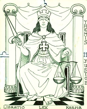 5 (SHIN, adding the first 4 Keys) - Venus: cosmic Law - the way of equilibrium