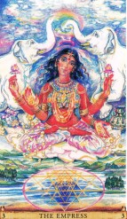 Sacred India Tarot 3 - Lakshmi