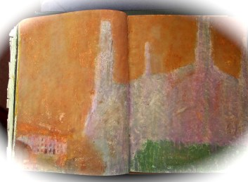 15 liverpool sketches 6, 1969, battersea power station